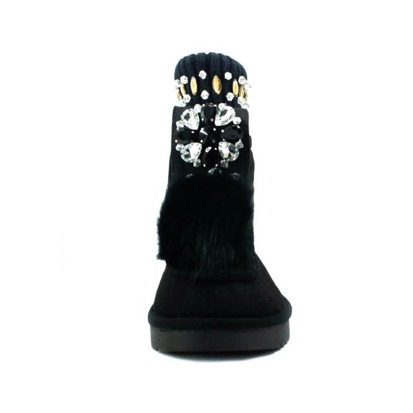 Черевики зимові жіночі Lonza чорний 24466