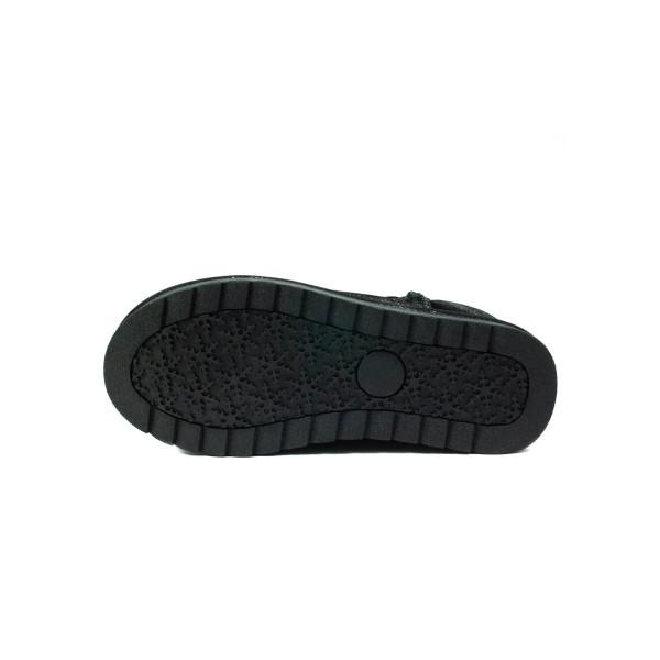 Угги женские Lonza W9501-1 черные