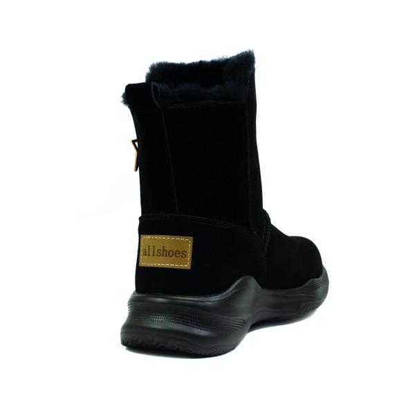 Угги женские Allshoes 118-19608 черные