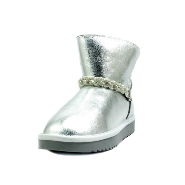 Угги женские Lonza A001 серебряные