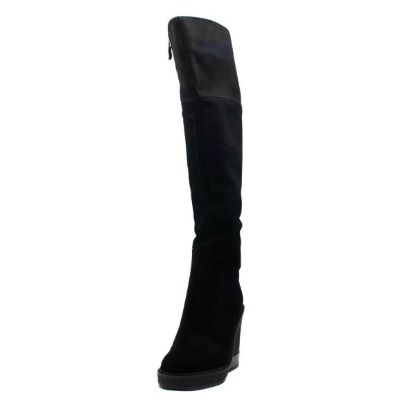 Сапоги зимние женские Fabio Monelli 7807-B14BM-H001 черные