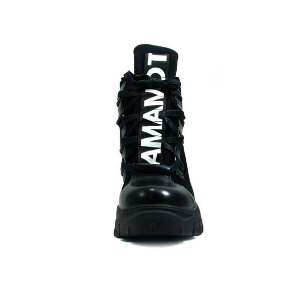 Черевики зимові жіночі Prima D'arte чорний 24440