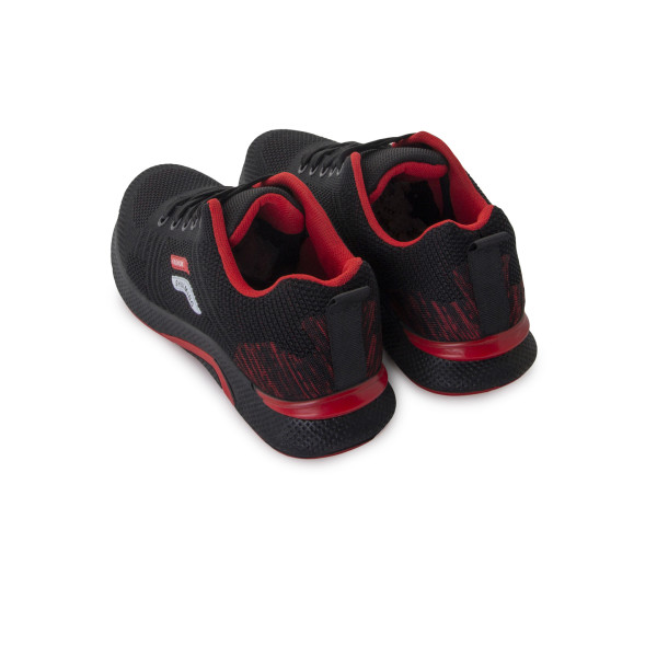 Кроссовки мужские Philip Smit MS 24310 черный, красный