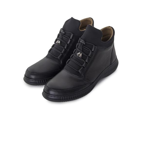 Черевики жіночі Women Boots чорний 24313