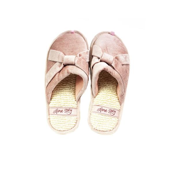 Тапочки кімнатні жіночі Home Story рожевий 24293
