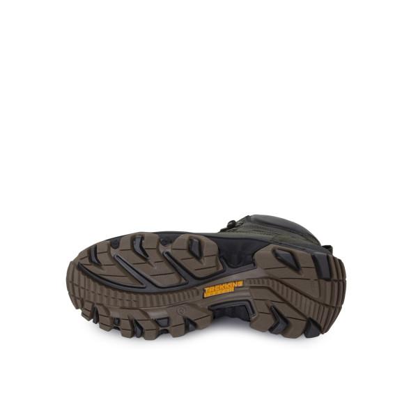 Ботинки мужские Konors MS 24371 зеленый