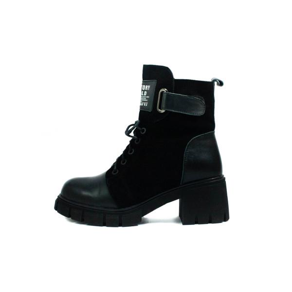 Ботинки зимние женские Fabio Monelli G950H-0B5052255AY-6 черные