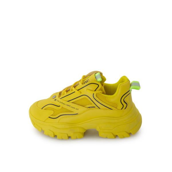 Кросівки жіночі Без ТМ жовтий 24331