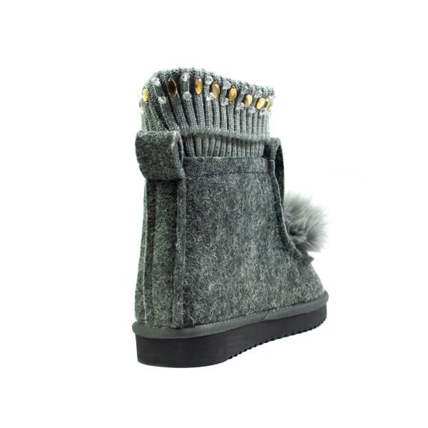 Черевики зимові жіночі Lonza сірий 24467