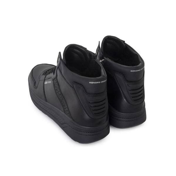 Ботинки мужские Konors MS 24383 черный
