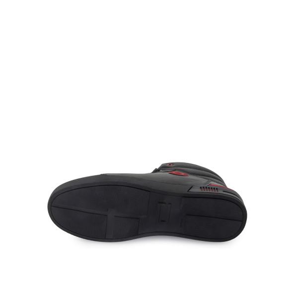 Ботинки мужские Konors MS 24385 черный, красный
