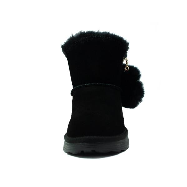 Угги женские Allshoes 118-19188 черные