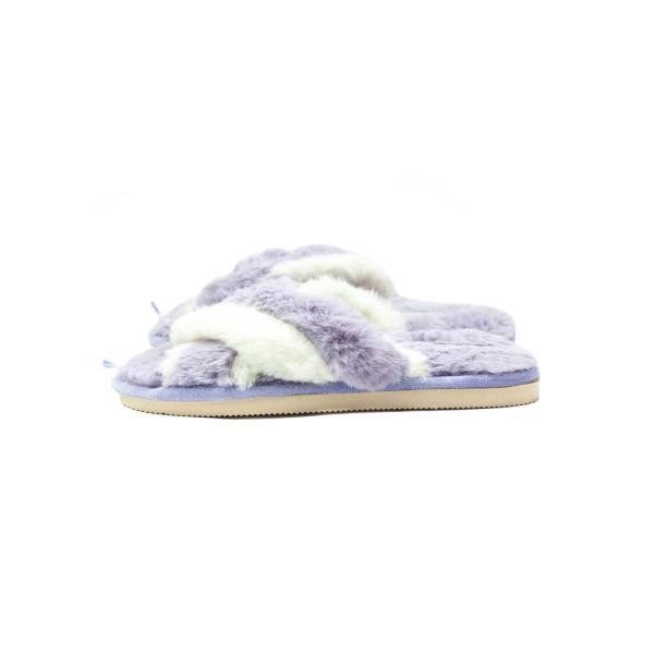 Тапочки комнатные женские Home Story 211035-E фиолетовые