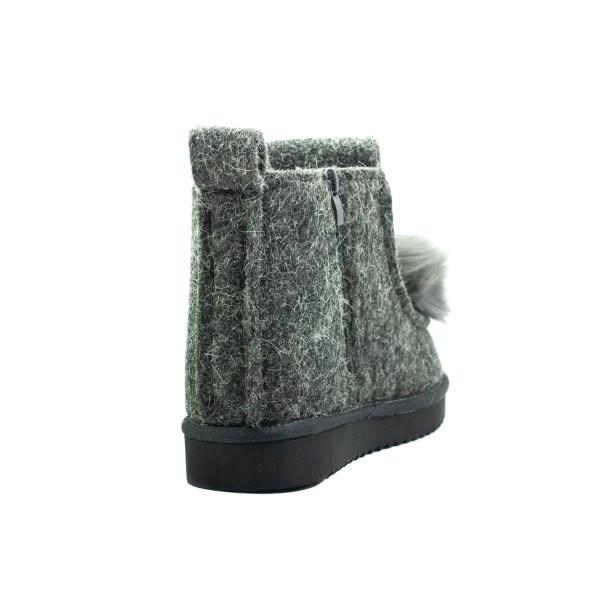 Ботинки зимние женские Lonza E033-2 серые