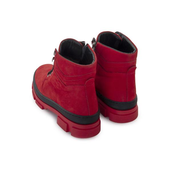 Черевики жіночі Brenda червоний 24504