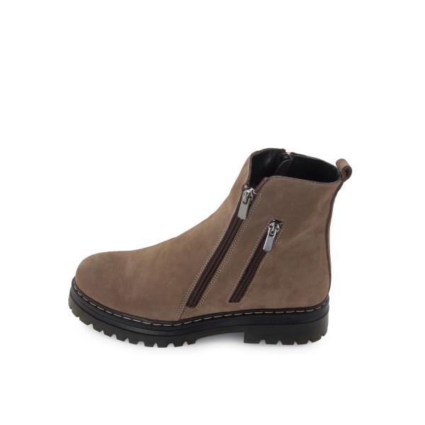 Ботинки женские Brenda MS 24505 бежевый