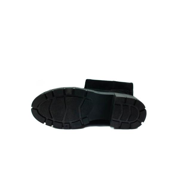 Сапоги зимние женские Anna Lucci W055-9B черные